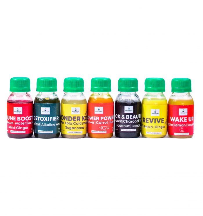 Juice Shot Variety Combo